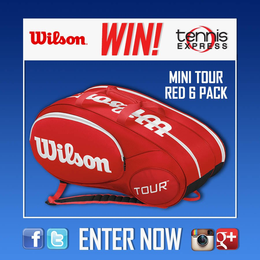 Would you like to win this gorgeous @WilsonTennis bag? Just retweet and tell us what you'll keep inside! Good Luck! https://t.co/Fg21JWR6K6