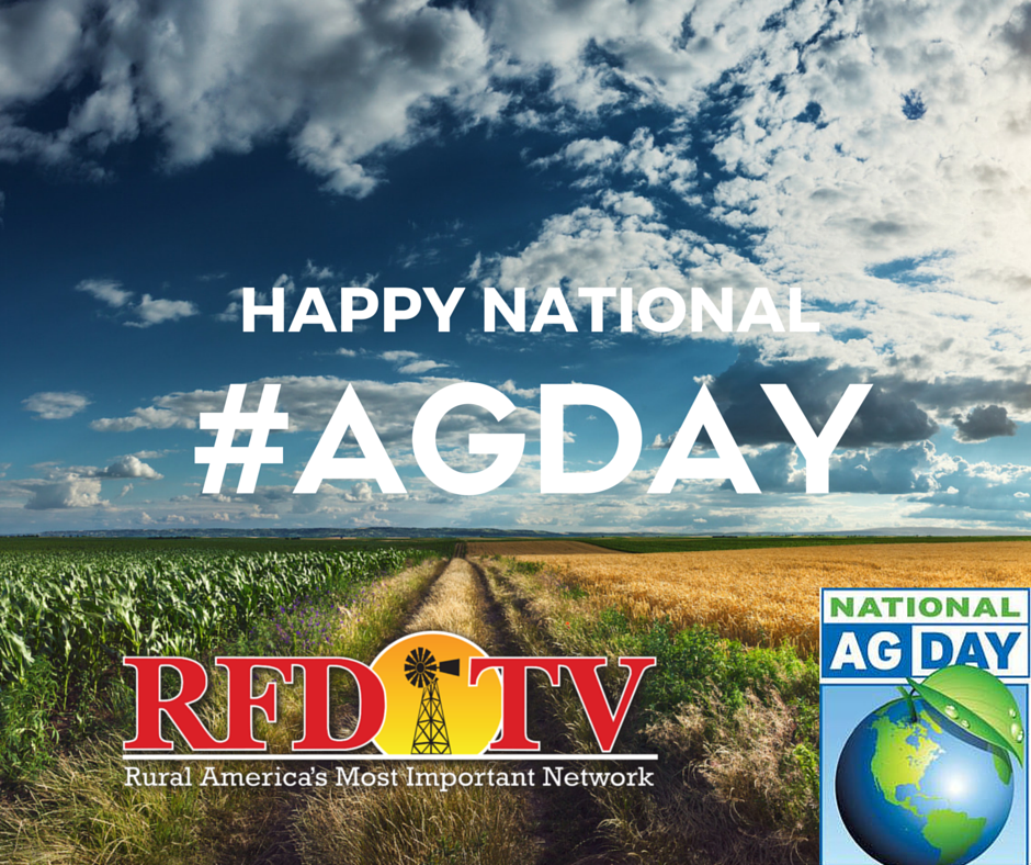 The average US #Farmer feeds 155 people. Be sure to thank a Farmer today. Happy National #AgDay! No Farms = No Food. https://t.co/5oag0D2U0N