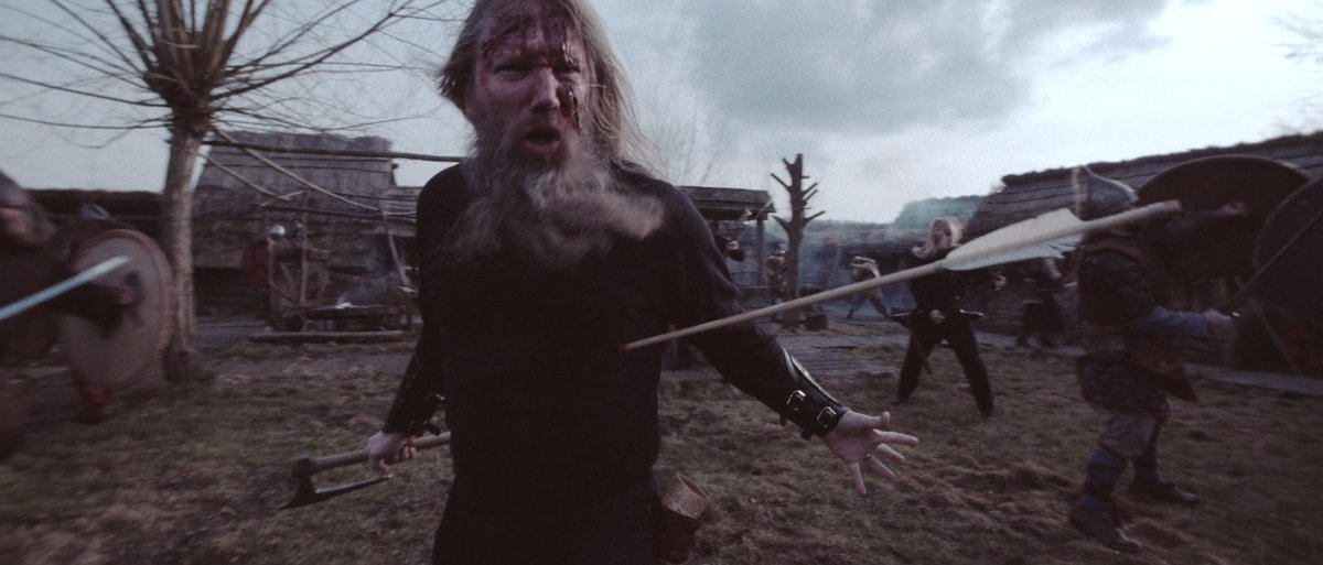 """Watch the music video premiere of """"At Dawn's First Light"""" here: https://t.co/tuicoAYOb3 // #JOMSVIKING https://t.co/N9KZ5r8ViX"""