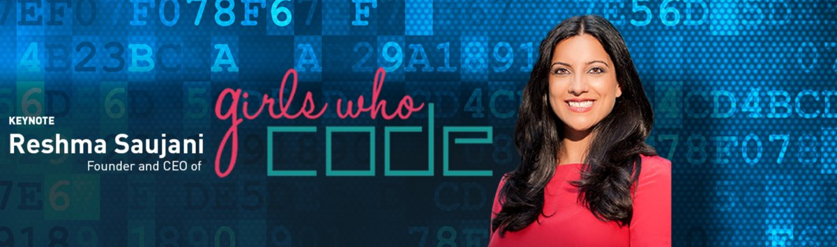 .@GirlsWhoCode CEO/Founder @reshmasaujani headlines #shoporg16 in Dallas. https://t.co/hFxk5Zjdrw @experienceNRF https://t.co/CPQGvEM66i