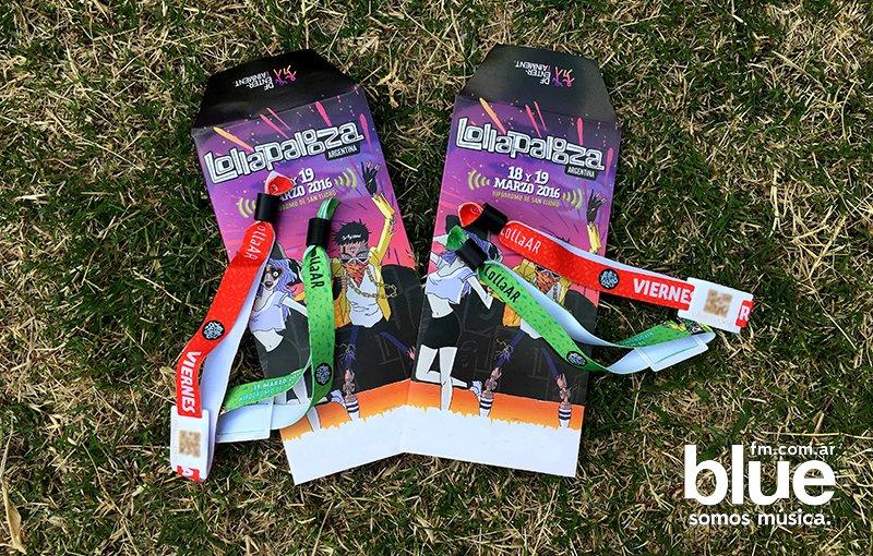 Tenemos estos pases para el Lollapalooza: seguínos en TW, usá #BlueLolla y @ a tus amigos para ganáterlos! https://t.co/VEbqt9eKH4