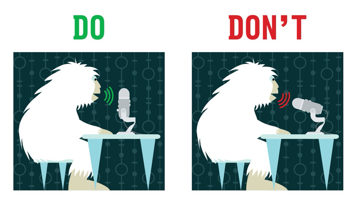 Recording tip! Yeti is a side address mic. For best results, record into side, not top. Tag friends who use yeti! https://t.co/KxS2HNpn26