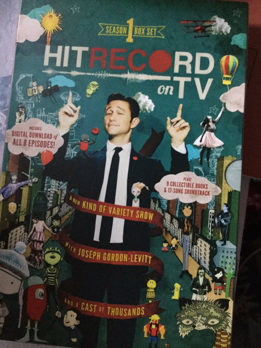 RT @eleanorwales89: @hitRECordJoe @hitRECord Just received season 1 of HitRecord. I can't wait to rewatch it https://t.co/aty4TPeszK