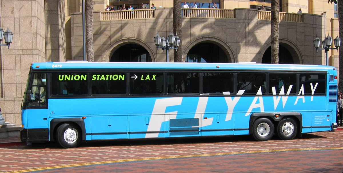 [PIC] LAX FlyAway® at Union Station turns 10 today! Ditch the car and hop on! Deets: