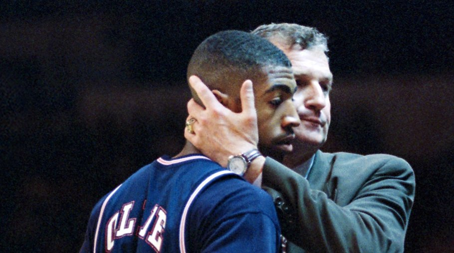 Remember this '95 #MarchMadness moment?  RT to share Calhoun's #RealStrength. https://t.co/upwXe0NfvK