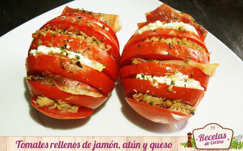 Sencilla y diferente receta de tomates rellenos de atún, jamón y queso de cabra, una delicia https://t.co/oepL8nOQ3j https://t.co/cRI57MEX9c