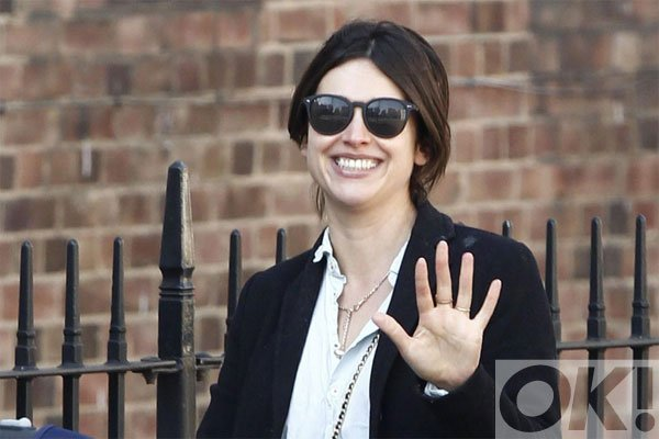 Are congratulations in order for Jamie Dornan and Amelia Warner?