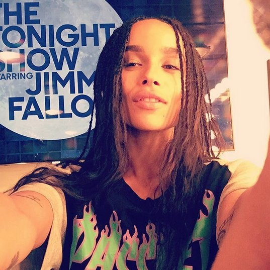 RT @FallonTonight: Head over to our Instagram to see @ZoeKravitz's takeover! https://t.co/1Kt4yPW1Va https://t.co/Api8Y8klms