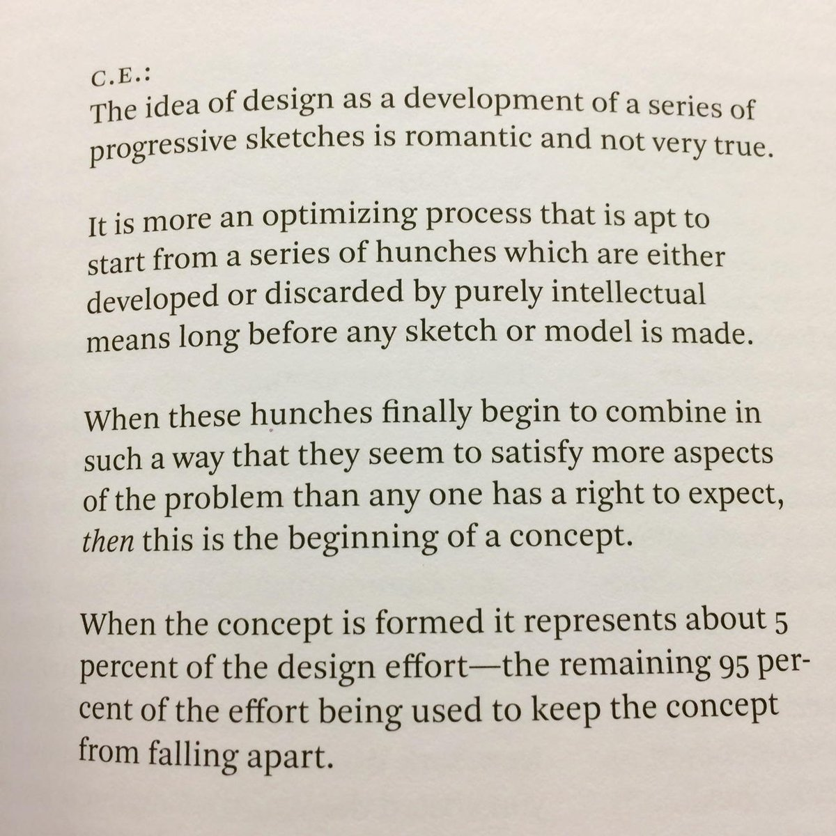 Charles and Ray Eames, handwritten notes on design (1964). Last paragraph FTW. https://t.co/w5b2AGziQr