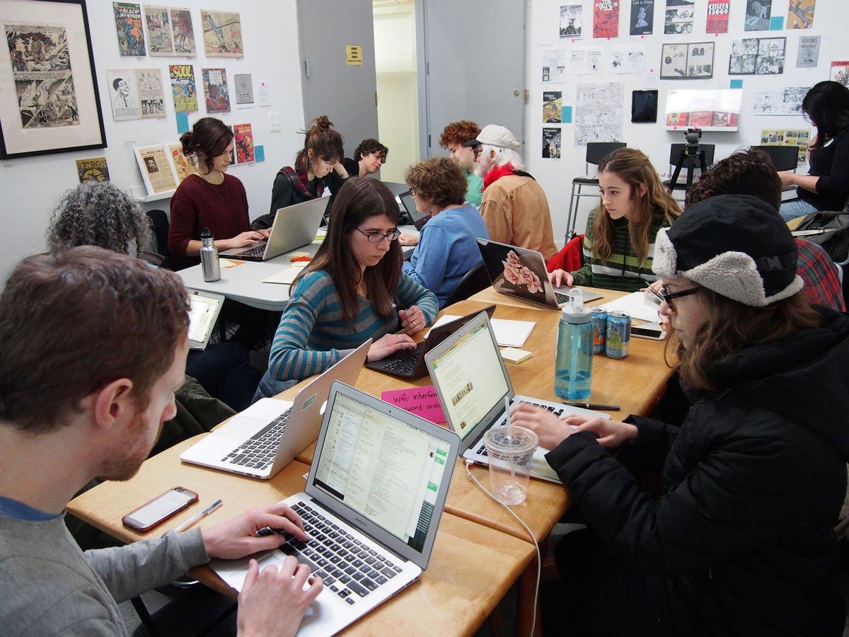 A #Feminist Edit-a-Thon seeks to Reshape @Wikipedia @NewYorker #ArtandFeminism