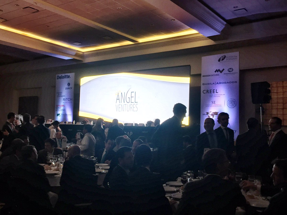 Angel Ventures presente en el 11• Summit de Capital Privado en México #CapitalEmprendedor #crecimiento  @AMEXCAP https://t.co/S1GA7TY6ml