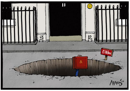 Budget cartoon from this morning's Telegraph briefing https://t.co/q3ugTha0SD