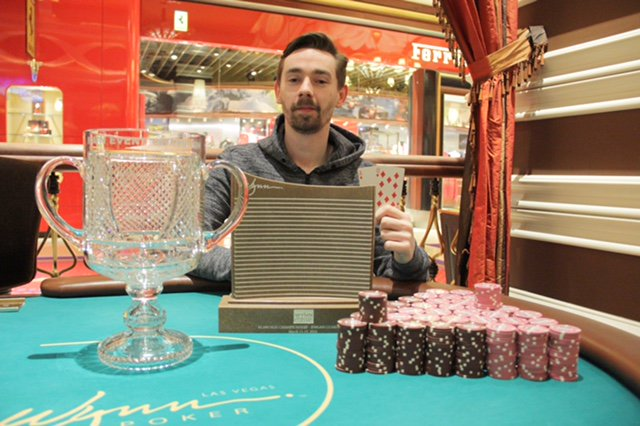 Congratulations to Ludovic Geilich. He won the Wynn Classic Main Event, taking home $150,662 https://t.co/Pb30Tvgf9u