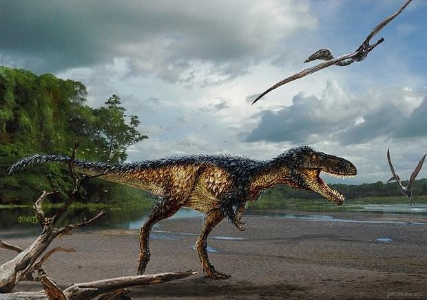 Los tiranosaurios fueron listos antes de ser grandeshttp://ww.abc.es/ZwNhq Hallan uno tamaño caballo primo de T rex https://t.co/cbf2hsUjNT