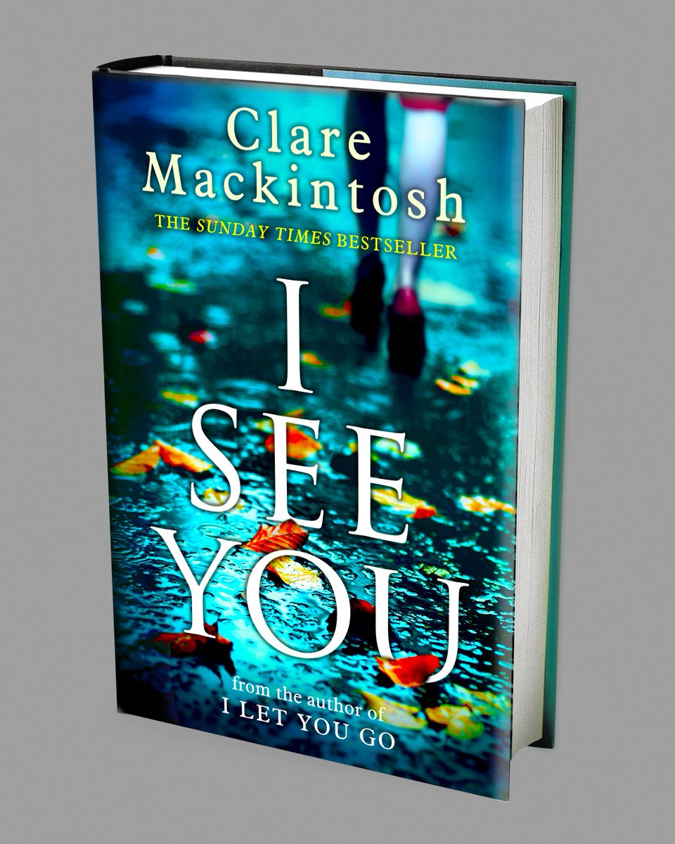 HERE IT IS! The cover for #ISeeYou, my second psychological thriller, out in HB on 28 July. https://t.co/pjz4GNk9TK https://t.co/an1kHiL3ol