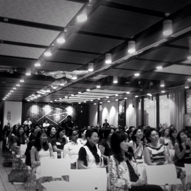 View from the stage at the launch of #PositionofStrength , part of a global initiative to empower women online @Twi… https://t.co/KhKACilpRr