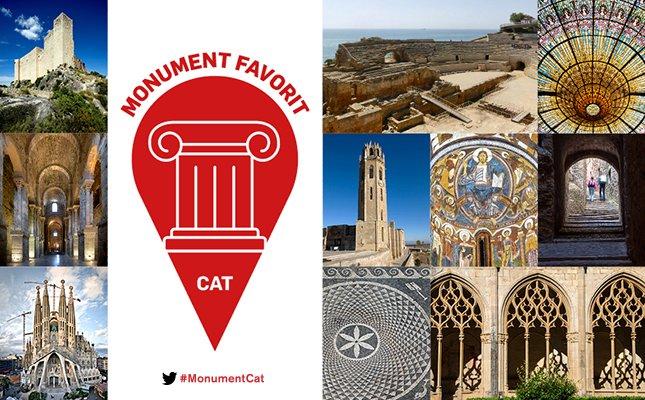 Comença el concurs per triar el monument favorit de Catalunya! Ja pots votar: https://t.co/tB5TJOKIF7 #MonumentCat https://t.co/7mmS9O7Amf