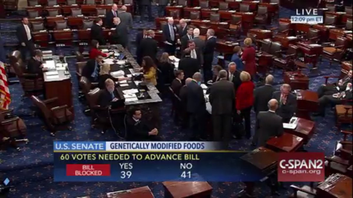The DARK Act is dead! Thank you for your commitment to the #RightToKnow movement. The Senate has heard our voices. https://t.co/oXZ8UAxb1o