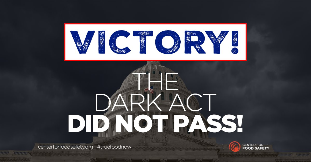 BREAKING: Victory for the American people! The #DARKAct defeated in the Senate! Please RT! https://t.co/hdUKuX1TmI https://t.co/i4sptzIko5