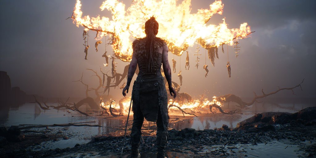 #Hellblade: Senua's Sacrifice -Senua Trailer https://t.co/xHGkx8MO9F https://t.co/QHfGQfFmt1