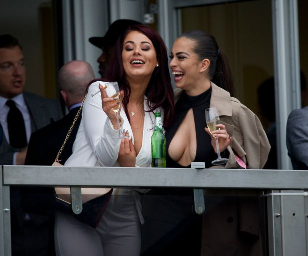 Citibank Secure Login >> Love island's jessica hayes and katie salmon flash their nipples at cheltenham - scoopnest.com