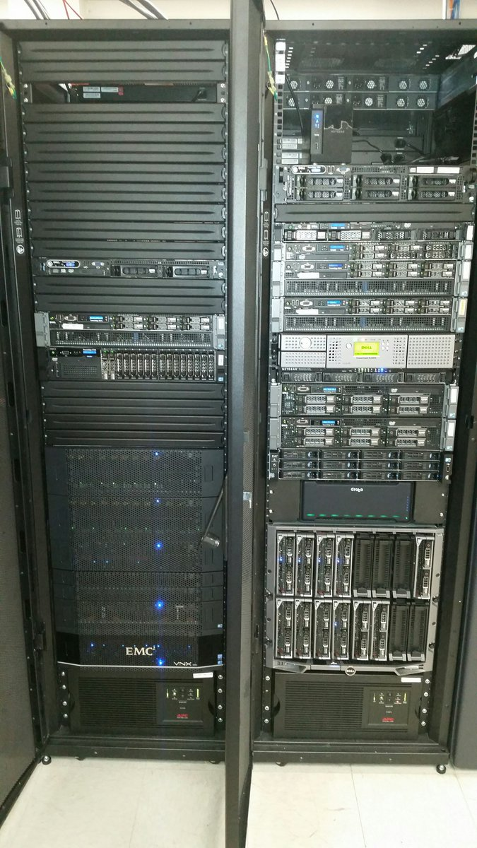 Out with the old (EMC, Dell, Datadomain), in with the new ( @SimpliVityCorp + @ciscoDC ) #hci Bye-bye, legacy. https://t.co/vZpf8cVOVq