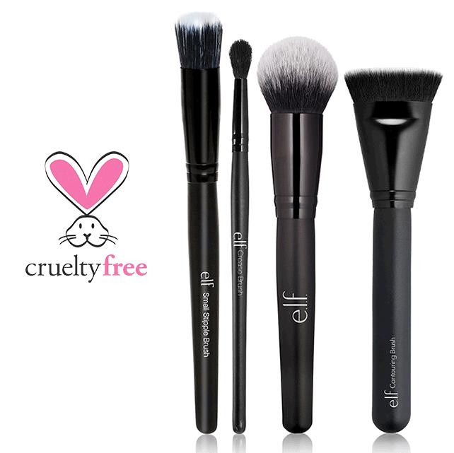 News Flash!! e.l.f has teamed up w/ @peta & ALL of our brushes are now made w/ 100% synthetic, cruelty-free fibers. https://t.co/DVDMYVSLfB