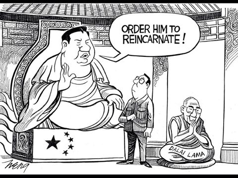Chinese regime dictates to  #Tibetans how to recognize and authorize  reincarnated #Buddhist masters! https://t.co/sDZvZQAqQh
