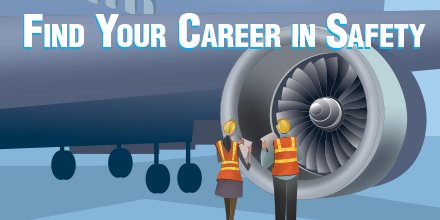 Find your career in safety! Apply now to be an Aviation Safety Inspector.