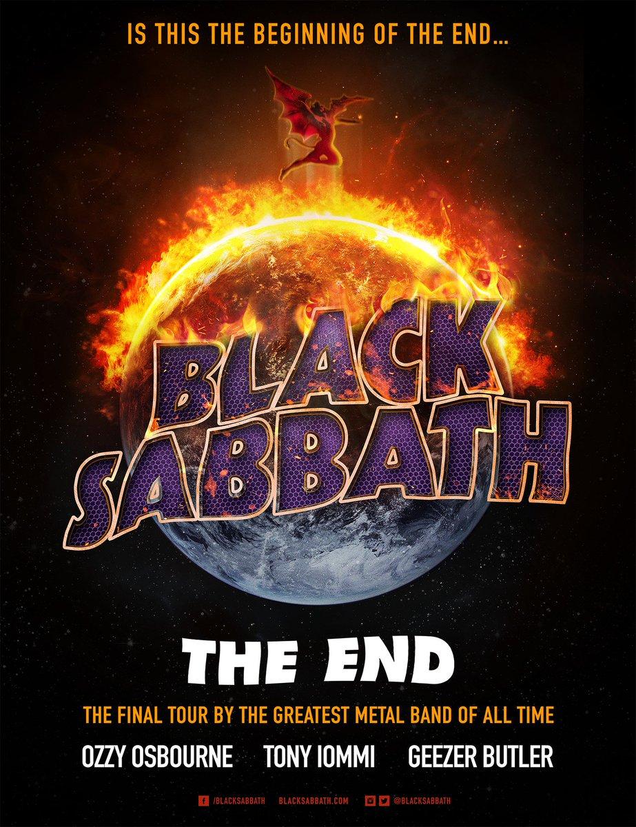 """.@BlackSabbath wrap leg one of """"The End"""" world tour #theend #blacksabbath https://t.co/lnisPkaWos https://t.co/ZDaMwcRwYr"""