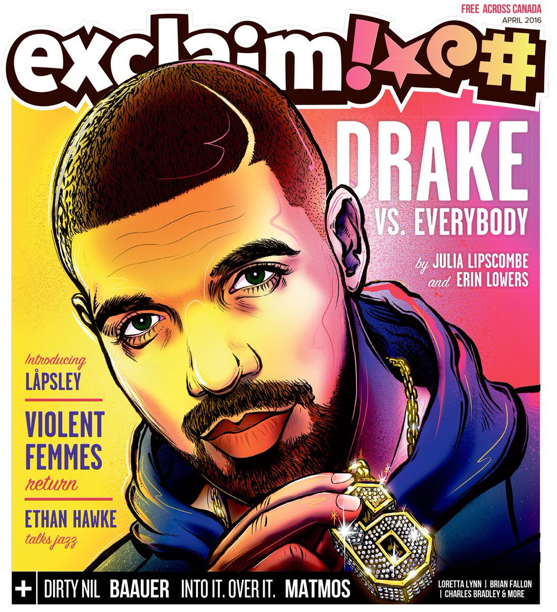 2016 is Drake's year. Then again, so were the last six. Read our new issue to find out why: https://t.co/g0iquX5MEn https://t.co/CUobiMPFdb