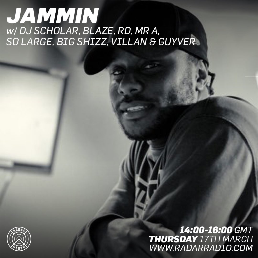 Starting my show on @RadarRadioLDN #jusjammin https://t.co/h59KqBO1Ew