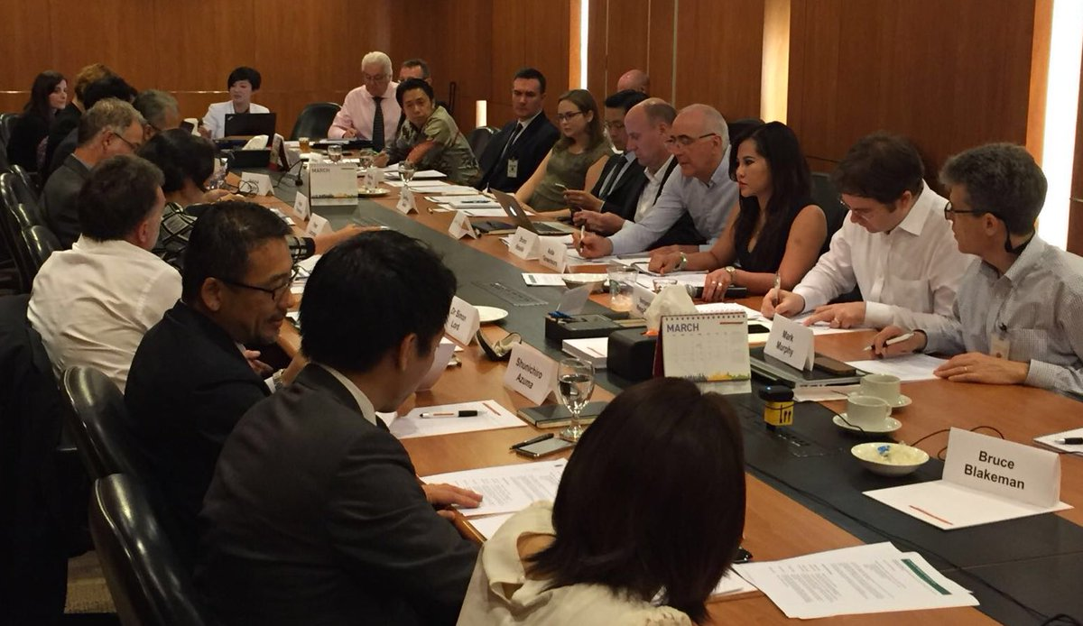 Private Sector Roundtable working to protect Asia Pacific rainforests - inaugural meeting chaired by @AidaGreenbury https://t.co/W5w7hjaghT