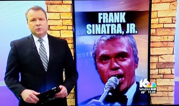Indiana TV station mistakes Joe Piscopo for Frank Sinatra Jr! @KUSI_GMSD @KTLAMorningNews https://t.co/fOR1MGz36H
