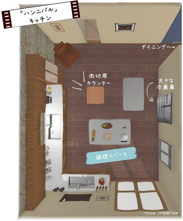#ハンニバル こだわりのキッチンスペースをご紹介!役割ごとに異なる3つのカウンターが!https://t.co/YJkfuRIuit #AXNJapan #海外ドラマ https://t.co/eHeSA2qwsJ