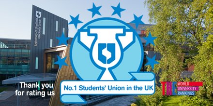 We won't stop- 8 years at the top! Thank you for rating us #No1SU again https://t.co/K7qIF8TSvI https://t.co/SxDHtMtN3j