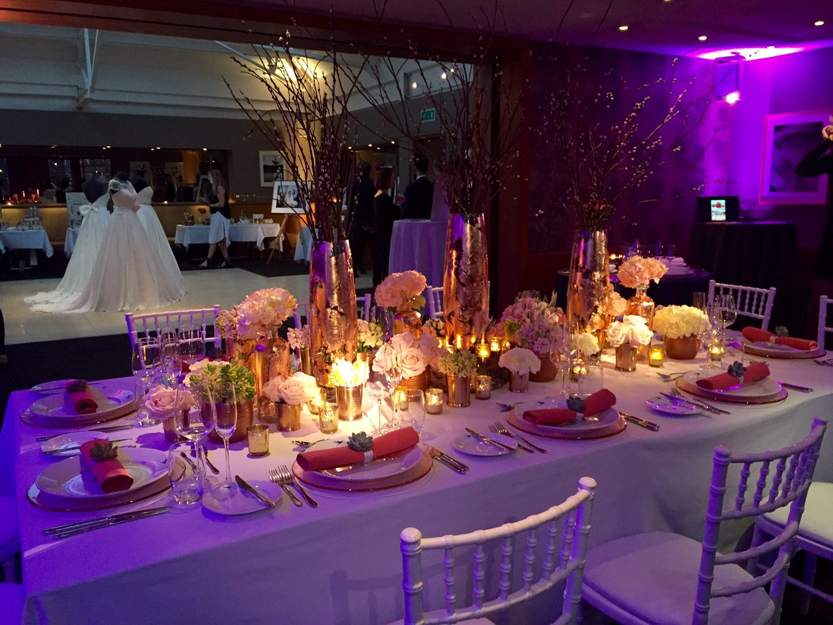 A HUGE thank you to all our Specialists & guests at last night's #Wedding Showcase, we had a fantastic evening! https://t.co/FH4KUWtsJz