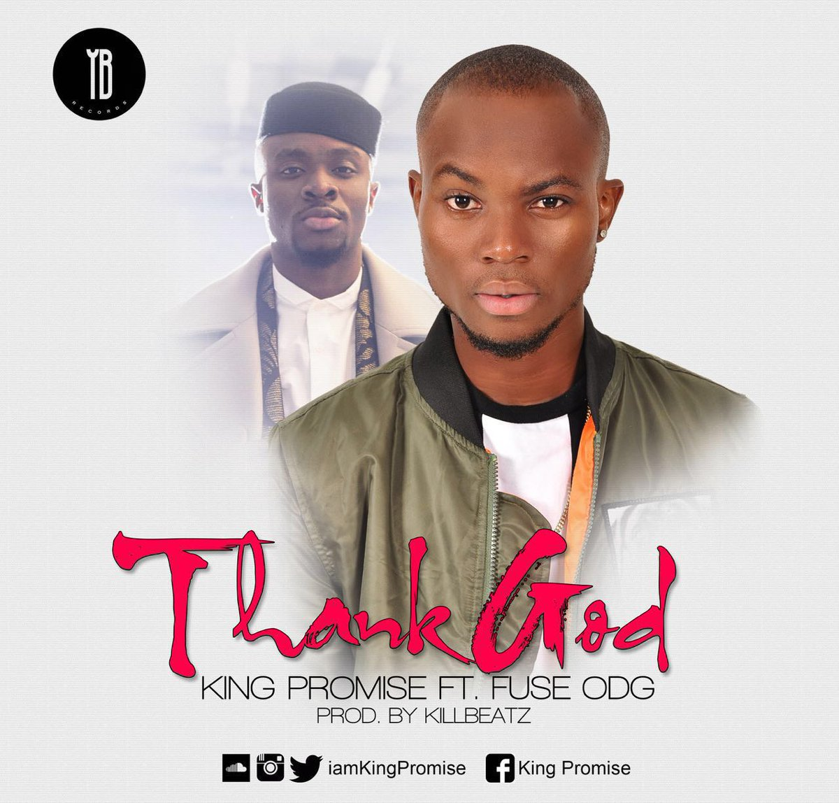 Thank God by @IamKingPromise feat. @FuseODG . prod. By @killbeatz .  Drops on Sunday https://t.co/u6Q8IZH8tY