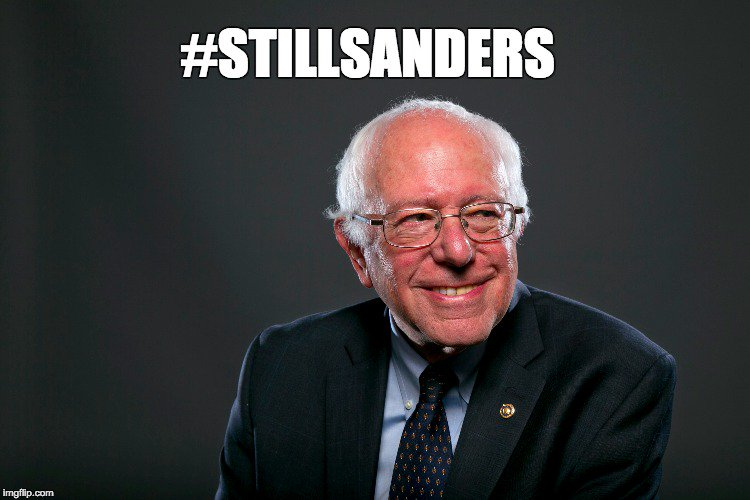 Please retweet if you're still supporting #BernieSanders. We've got to show that we're not giving up! #StillSanders https://t.co/FTxu2MReRK