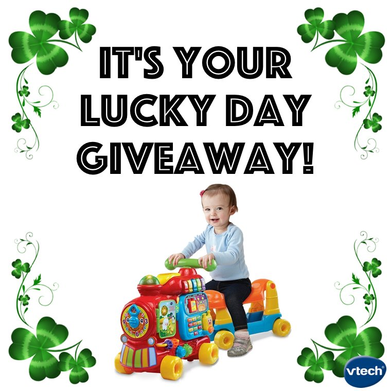 It's your lucky day! Like 4 a chance 2 win: Sit-to-Stand Ultimate Alphabet Train (ends 5:00pmCST TODAY) #giveaway https://t.co/pRuMffLCLn