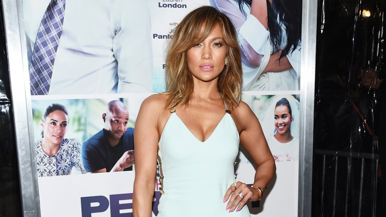 Jennifer Lopez hits bizarrely early NBCUniversal pre-Emmy lunch