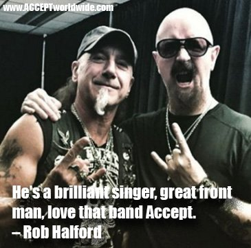 """He's a brilliant singer, great front man, love that band Accept"" – Rob Halford #blindrage https://t.co/GN9Oeg9oVk"