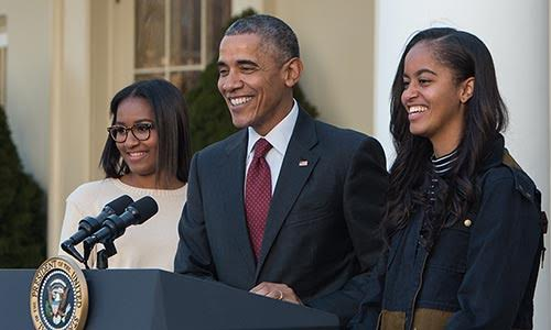 Barack Obama opens up about the pressures faced by his two daughters: