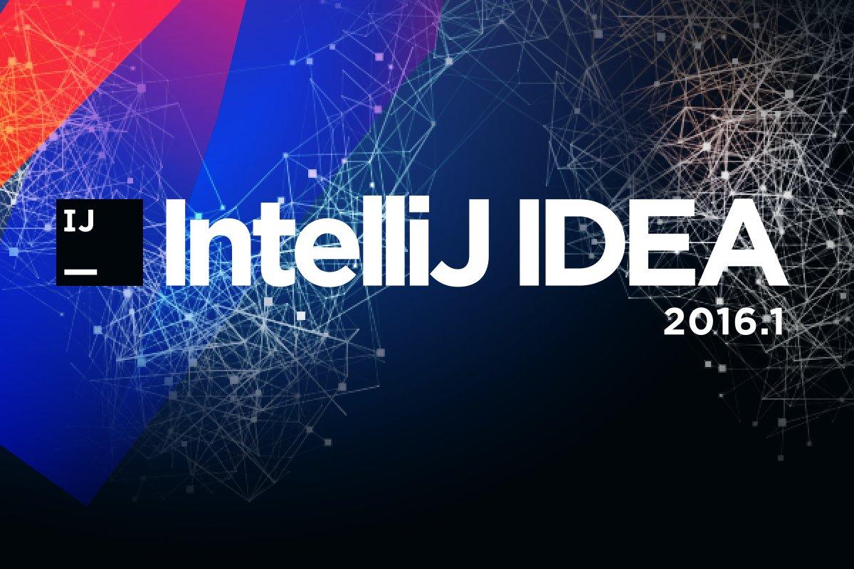 IntelliJ IDEA 2016.1 is here! Learn what's new: https://t.co/Pg9wZdITV9 https://t.co/d1SU4Q9q7k