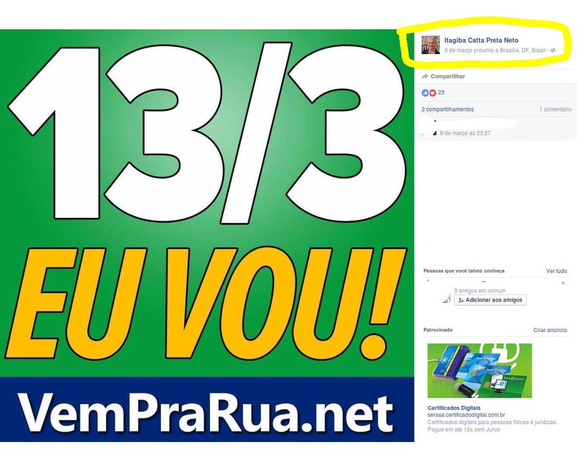 "ISENTO? Juiz de primeira instância q acaba d ""anular"" posse de  Lula, convocava p/protestos d impeachment de Dilma. https://t.co/7nGj20Q6xw"