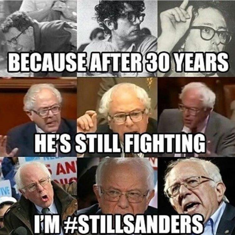 #StillSanders https://t.co/ydDRYI8H3l