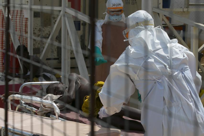 Public health officials say that Ebola is no longer raging through Sierra Leone