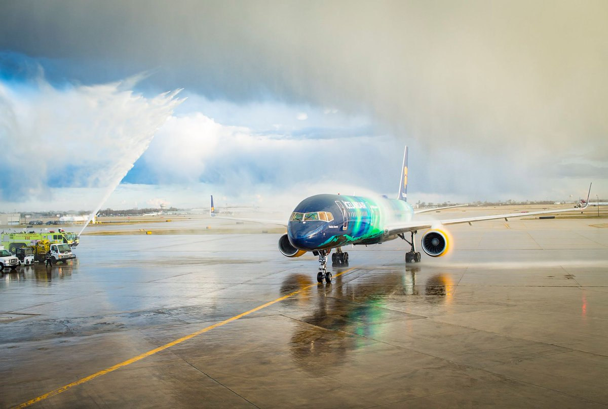"Now Icelandair is connecting the Windy City with the ""Windy Country"". Welcome aboard Chicago"