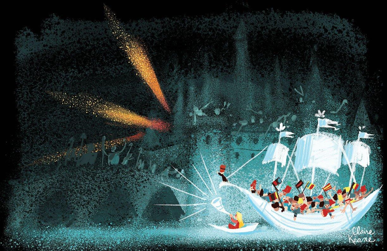 It's Small World saving the day // visual development art #DisneyMagicKingdoms https://t.co/mB25zgAK7V