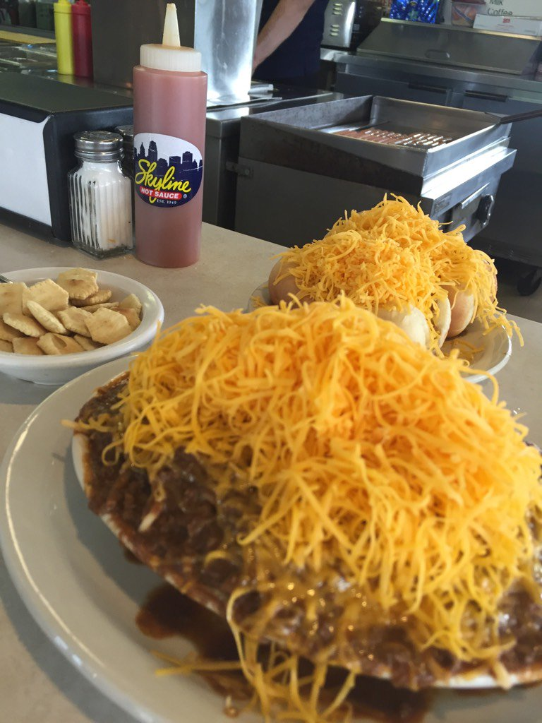 Whatcha know about #Skyline ? So happy I don't have to go to Cincinnati to get some! No